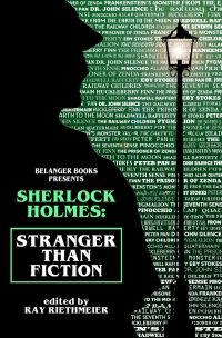 Sherlock Holmes: Stranger Than Fiction - Cover